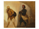Arabs in Alexandria, Undated Giclee Print by Jacob Jacobs