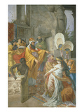 Esther and Ahasuerus, Fresco, 1876 Giclee Print by Cesare Mariani