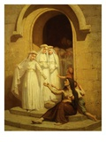 L'Aumône Des Communiantes (First Communicants' Charity), C. 1900 Giclee Print by Edouard Jérôme Paupion