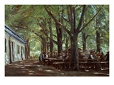 Brasserie À Branneburg (Outdoor Café in Branneburg, Germany), 1893 Giclee Print by Max Liebermann