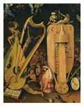 Hell, Right-Hand Panel of the Garden of Earthly Delights, C. 1503-04 Triptych (Detail) Premium Giclee Print by Hieronymus Bosch