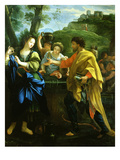 Rebecca at the Well (Inv 482) Giclee Print by Ludovicus Tesio Taurinensis