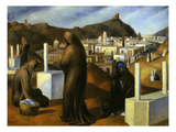 The Tombs, 1926 Giclee Print by Mohammed Sais