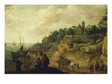 Village by the Sea, Holland Giclee Print by Pieter de Neyn