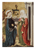 The Visitation, Mary and Elizabeth Meeting Giclee Print by Castilian Master