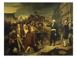 Jean-Baptiste Carrier, Deputy of the Convention, Arresting the Envoy from Nantes Giclee Print by Auguste Francois Willeme