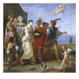 The Abduction of Helen, C.1626-29 Giclée-Druck von Guido Reni