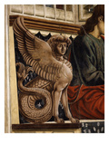 Decorative Sphinx, from the Last Supper, Fresco C.1444-50 (Detail) Giclee Print by Andrea Del Castagno