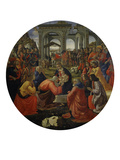 Adoration of the Magi C.1487 Giclée-tryk af Ridolfo Ghirlandaio
