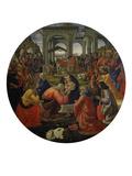 Adoration of the Magi C.1487 Giclée-tryk af Ridolfo Ghirlandaio