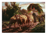 Pastoral Giclee Print by Filippo Palizzi