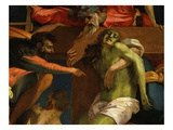 Christ's Deposition from the Cross, 1520-21 (Detail) Giclee Print by  Rosso Fiorentino (Battista di Jacopo)