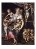 Allegory of Fertility and the Senses, 1593 Giclee Print by Dirk De Quade Van Ravesteyn