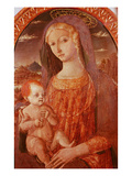 Virgin and Child, 15th Century, Canvas Giclee Print by  Matteo Di Giovanni Di Bartolo