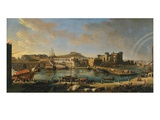 The Arsenal at Naples, 1711 (Inv 70) Giclée-Druck von Gaspar van Wittel