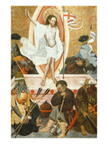The Resurrection, Verdu Retable, 1430-61, Llieda School Giclee Print by Jaime Ferrer