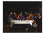 The Last Supper Giclee Print by Girolamo di Romano