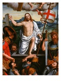 Christ Emerging from the Tomb, the Resurrection, from the Brotherhood of St Antony Giclee Print by Giuseppe Giovenone