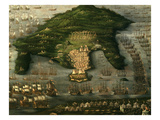 Attack on Corfu, 16th Century Giclee Print