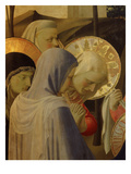Holy Women, from Deposition of Christ, 1435, from Holy Trinity Altarpiece (Detail) Giclee Print by Fra Angelico