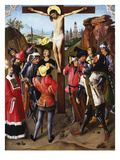 The Crucifixion, C.1460-70 Giclee Print by Master of the Manna