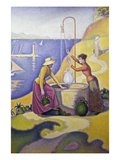 Ladies at the Well 1892 Giclee Print by Paul Signac