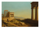 The Acropolis at Athens, 1857 Giclee Print by Florent Mols