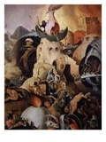 The Last Judgement (Detail) Giclee Print by Pieter Huys