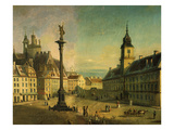 The Old Square, Warsaw, Poland (Detail) Giclee Print by Jan Seidlitz