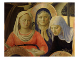 The Holy Women, from Deposition of Christ, 1435, from Holy Trinity Altarpiece (Detail) Giclee Print by  Fra Angelico