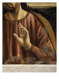 Hand of Saint James with Glasses and Carafe, from the Last Supper, Fresco C.1444-50 (Detail) Giclee Print by Andrea Del Castagno