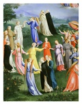 The Circle of Dominicans in Paradise from the Last Judgement Giclee Print by Bartholomaeus Spranger