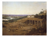 View of Engenho Real, also known as a View of Sugar Mill Giclee Print by Frans Post