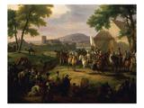 Le Siège De Paris Par Henri Iv (Siege of Paris, France, 1589-90 by Henry IV, 1553-1610) Giclee Print by Guillaume Frederic Ronmy