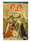 Nativity, Verdu Retable, 1430-61, Llieda School Giclee Print by Jaime Ferrer