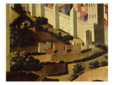 Countryside Outside Jerusalem, from Deposition of Christ, 1435, from Holy Trinity Altarpiece Giclee Print by  Fra Angelico