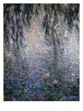 Le Matin Clair Aux Saules, Bright Morning with Willow Trees, from a Series of 8 Giant Canvases Giclee Print by Claude Monet