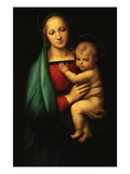 Madonna and Child, Called Madonna of the Grand Duke Reproduction giclée Premium par  Raphael