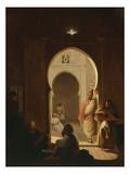 Entrance to Moorish Café Giclee Print by José-Maria Escacena Y Daza