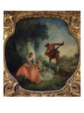 La Le&#231;on De Musique (The Music Lesson) Giclee Print by Nicolas Lancret