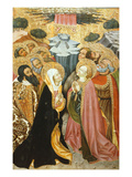 The Ascension, Verdu Retable, 1430-61, Llieda School Giclee Print by Jaime Ferrer