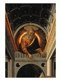 God the Father, from the Annunciation with Saints Apollonia, Luke and Prophets David and Isaiah Giclee Print by Neri Di Bicci
