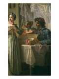 Le Marchand De Rubans (The Ribbon Seller) Giclee Print by Etienne Jeaurat