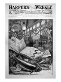 The Trout Display at Fulton Market, New York City, Harper'S Weekly, 15 April 1882 Giclee Print by Daniel Carter Beard