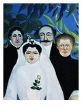 La Noce (The Wedding) (Detail) Giclee Print by Henri Rousseau
