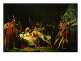 Death of Viriato, Died 139 Bc, Fought Against Romans Giclee Print by Federico de Madrazo y Kuntz