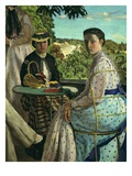 Réunion De Famille (Family Gathering), 1867 (Detail) Giclee Print by Frederic Bazille
