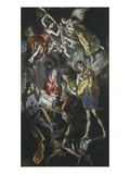 The Adoration of the Shepherds 319X180Cm Painted at End of His Life Giclee Print by  El Greco