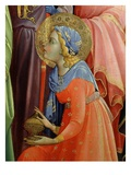 Saint Carrying Incense, from Adoration of the Magi (Detail) Giclee Print by Lorenzo Monaco