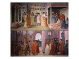 Saint Peter Healing Cripple Giclee Print by Masolino Da Panicale
